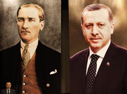 Erdogan-Ataturk